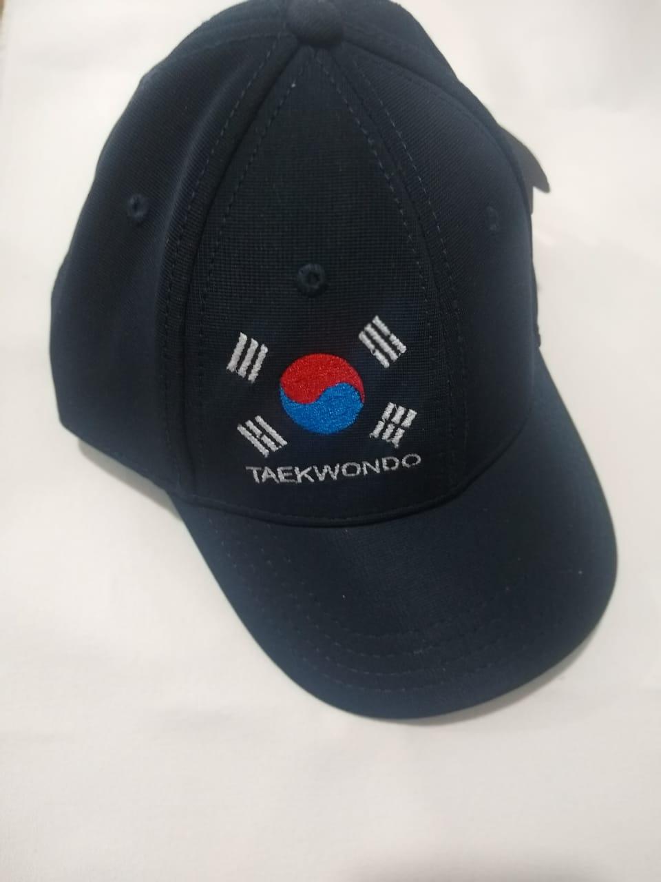 Boné Taekwondo 1 Azul marinho
