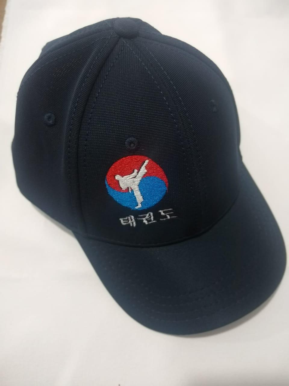 Boné Taekwondo 2 Azul Marinho