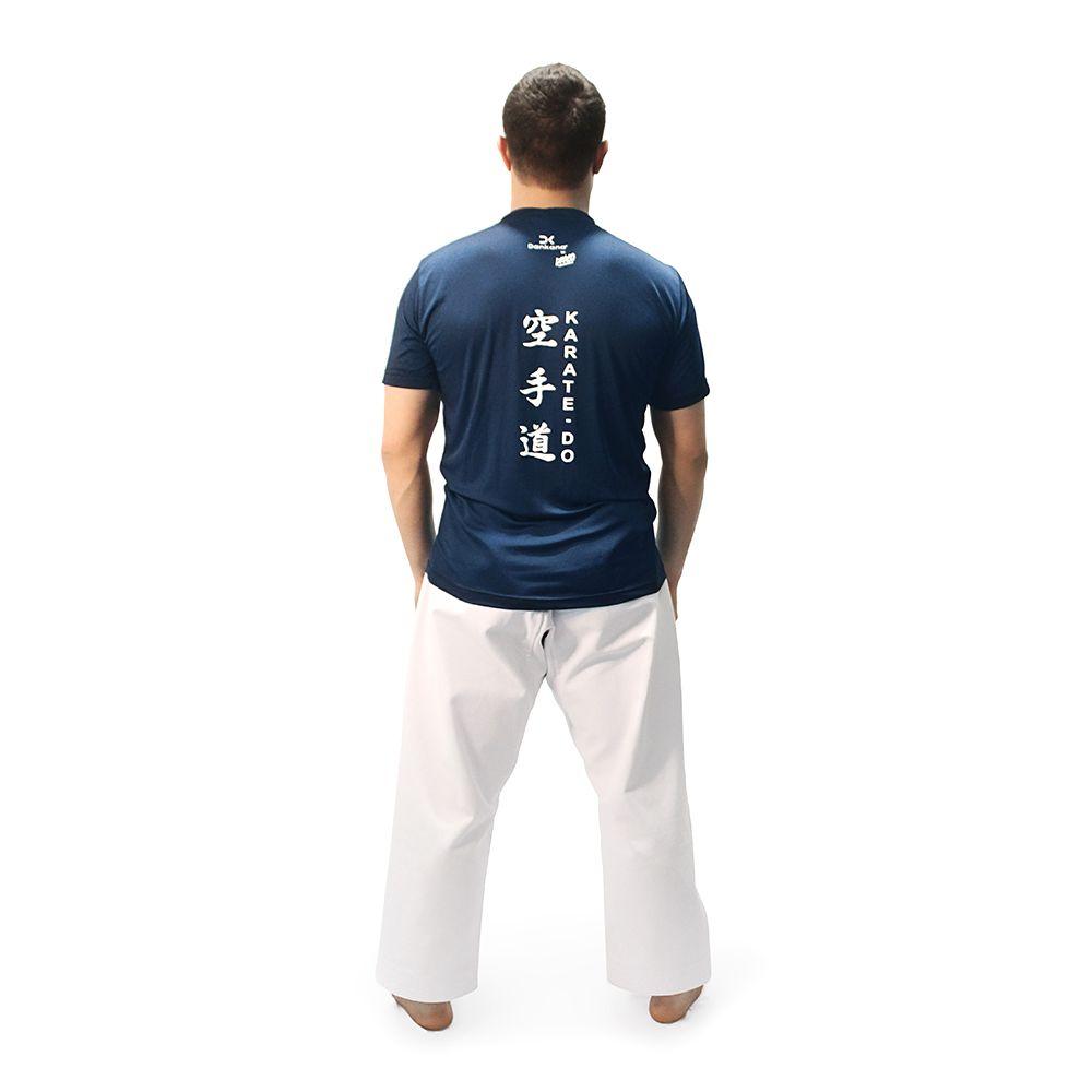 Camiseta Poliamida Azul