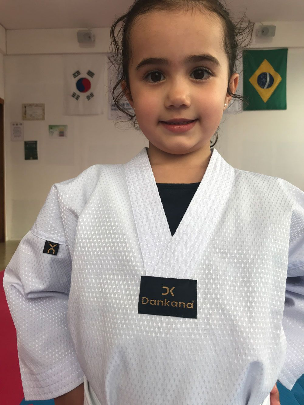 Dobok Olimpic gola V Infantil