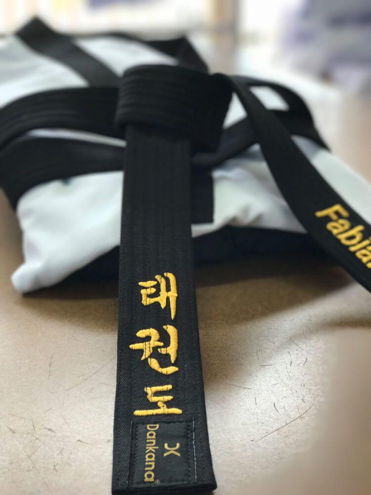 Faixa especial para Taekwondo Personalizada