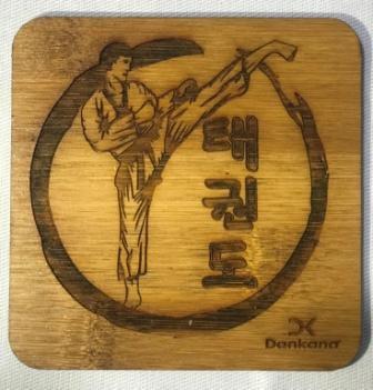 Porta copo  ou  quadrinho de bambu