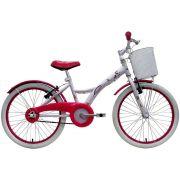 Bicicleta Tito Unilover  - Unicórnio c/ Cestinha Aro 20