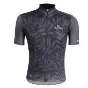 Camisa Masculina Tropical Mauro Ribeiro - Preta/Cinza