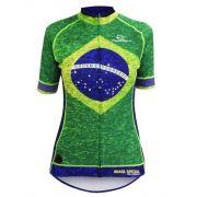 Camisa Mauro Ribeiro Feminina Brasil Special 2018