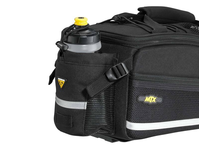 Alforje Topeak MTX Trunkbag EX 8 Listros com Suporte para Garrafa de Água