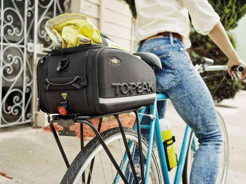 Alforje Topeak MTX Trunkbag EXP com Lateral Expansível