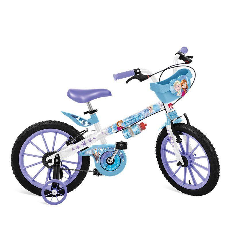 Bicicleta Bandeirante Frozen Disney Aro 16