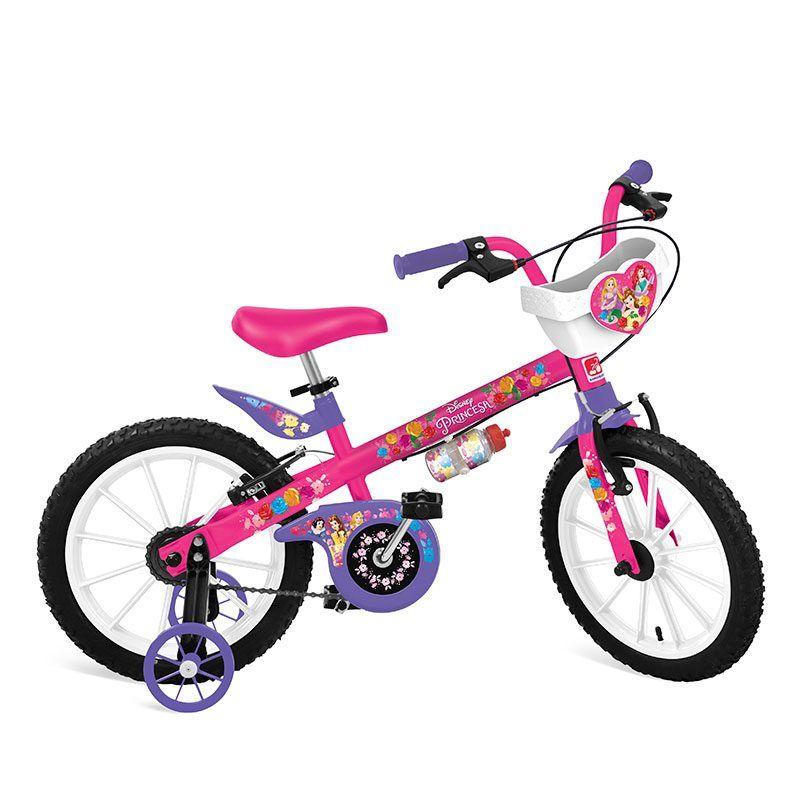 Bicicleta Bandeirante Princesas Disney Aro 16