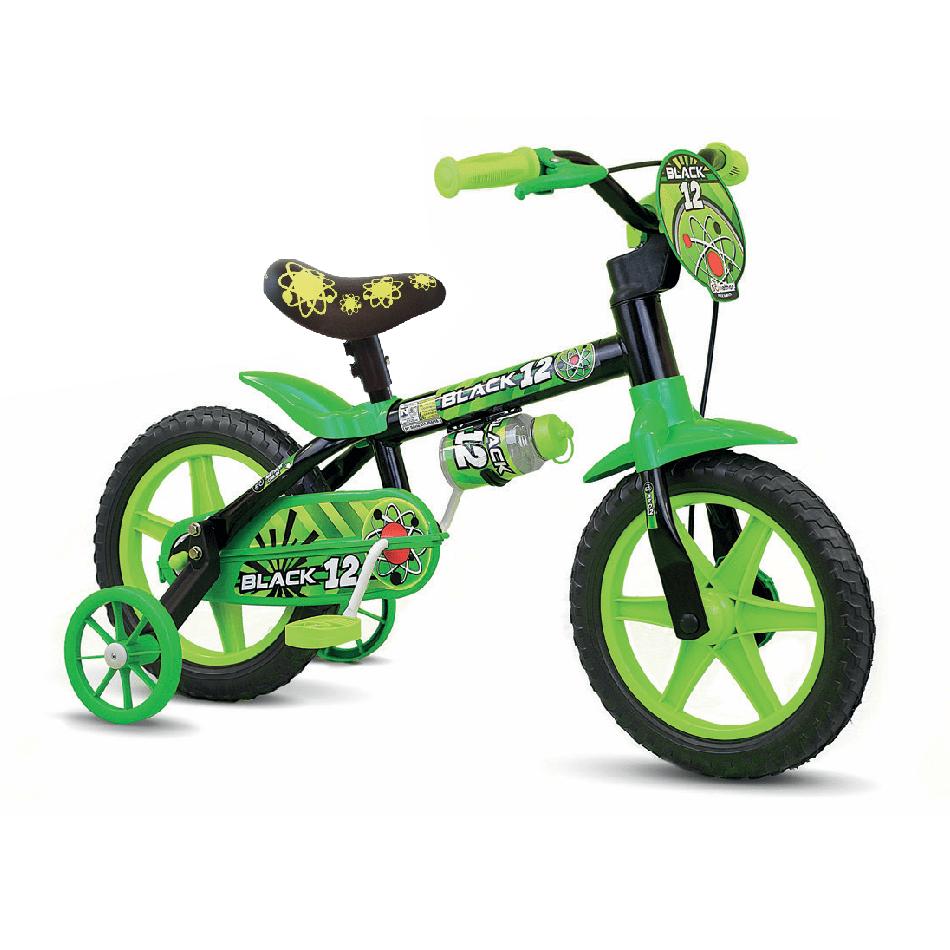 Bicicleta Infantil Aro 12 Black 12