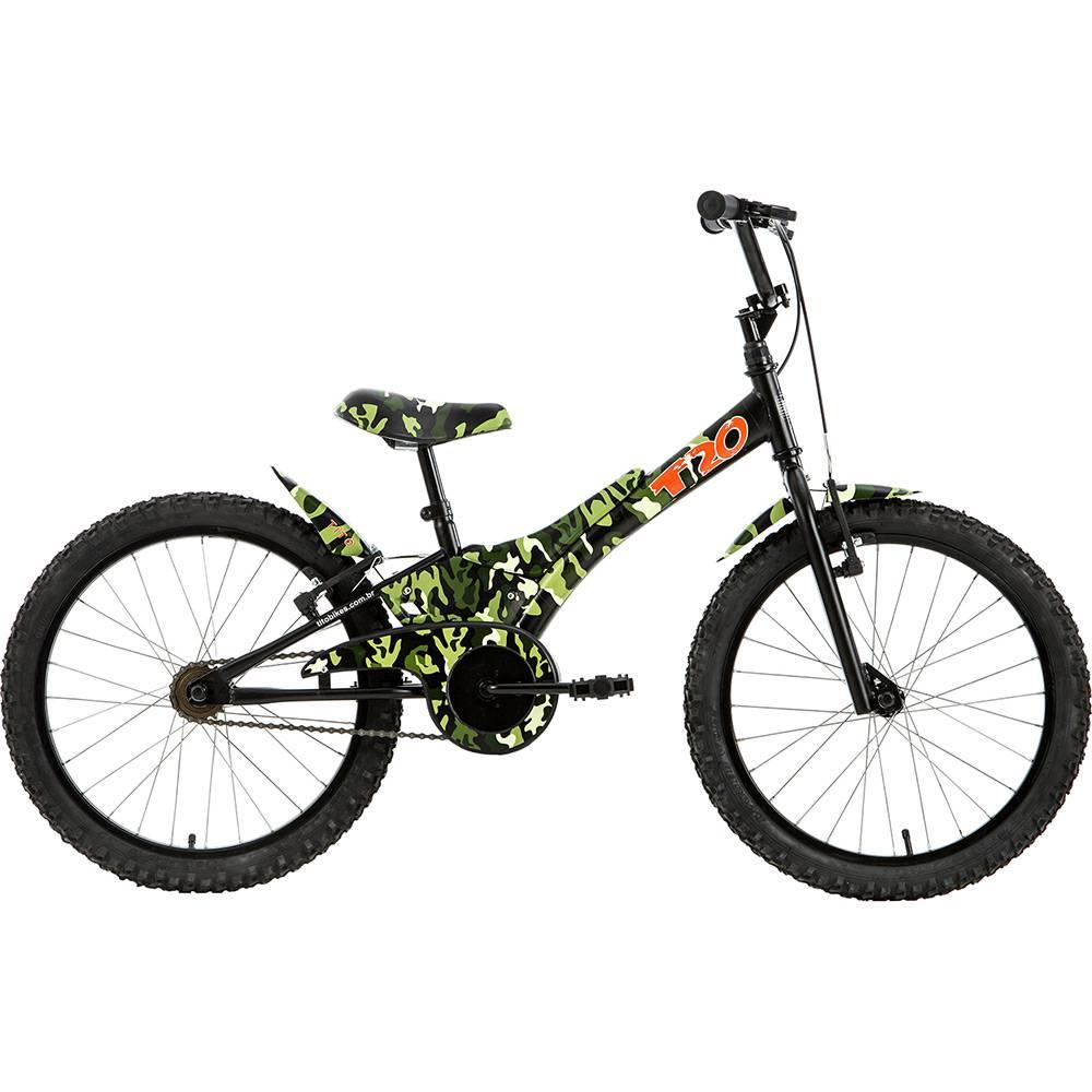Bicicleta Tito Camuflada Aro 20