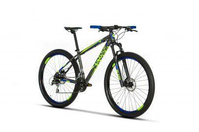Bicicleta Sense Fun Verde-Azul Aro 29