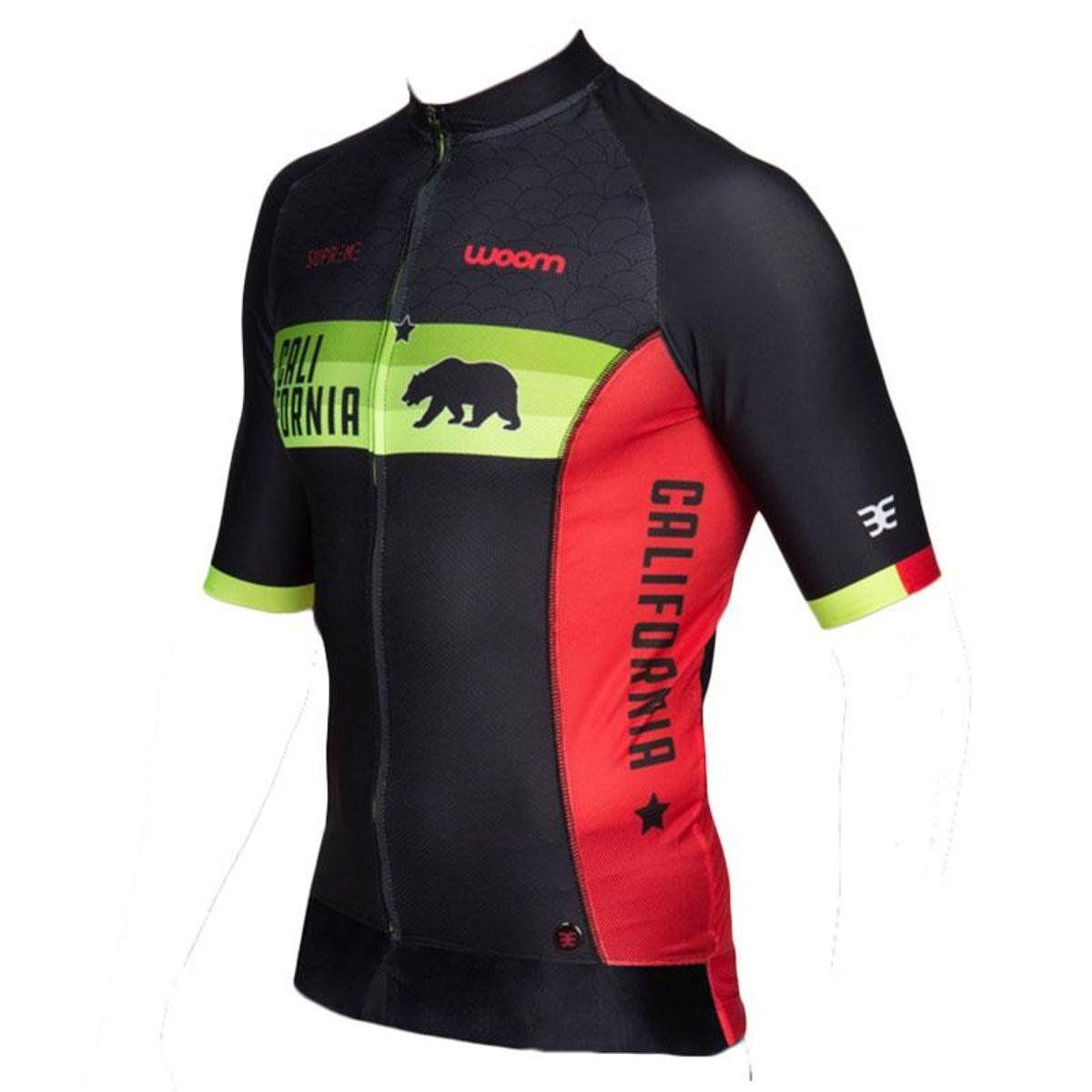 Camisa Ciclismo Supreme Woom California - Masc - 2019