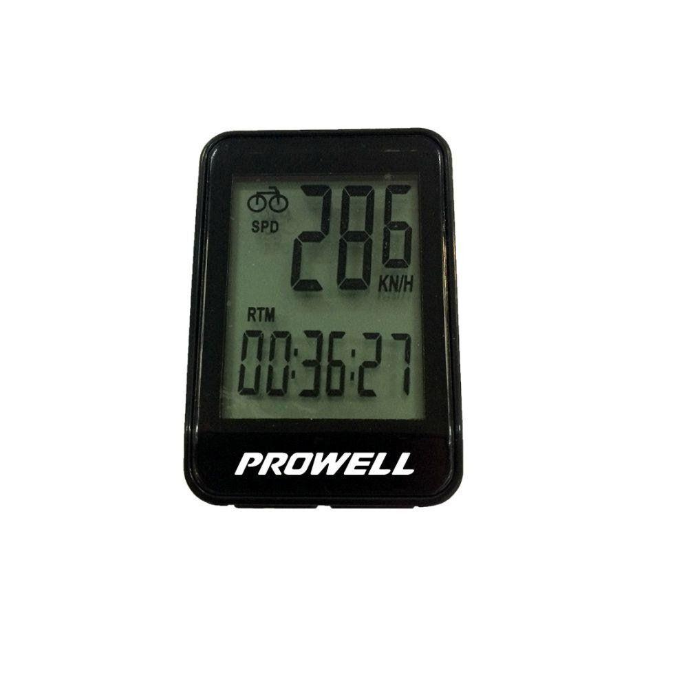 Ciclocomputador / velocímetro para bicicleta PROWELL PW-FW 507