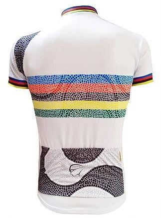 Camisa Masculina Esprit Mauro Ribeiro - Branca com listras