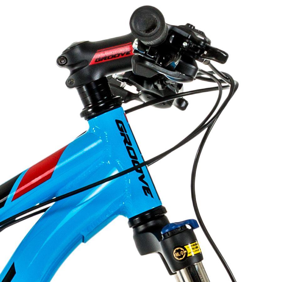 Bicicleta Groove Zouk HD Azul 21V Aro 29