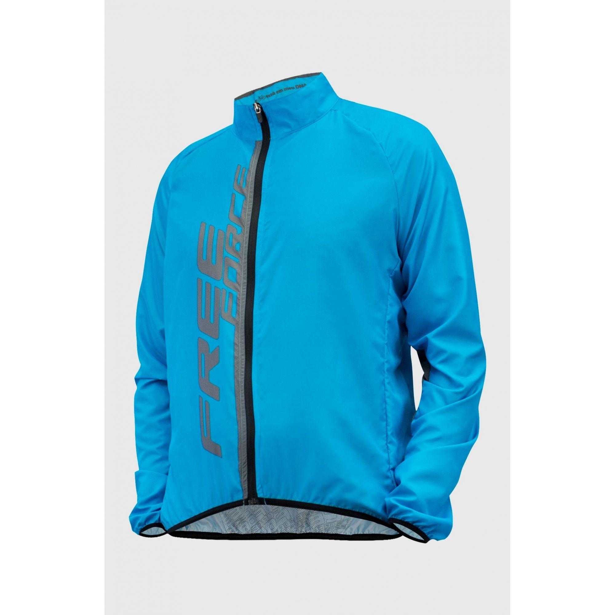 Jaqueta Corta Vento Fit Masculina – Azul
