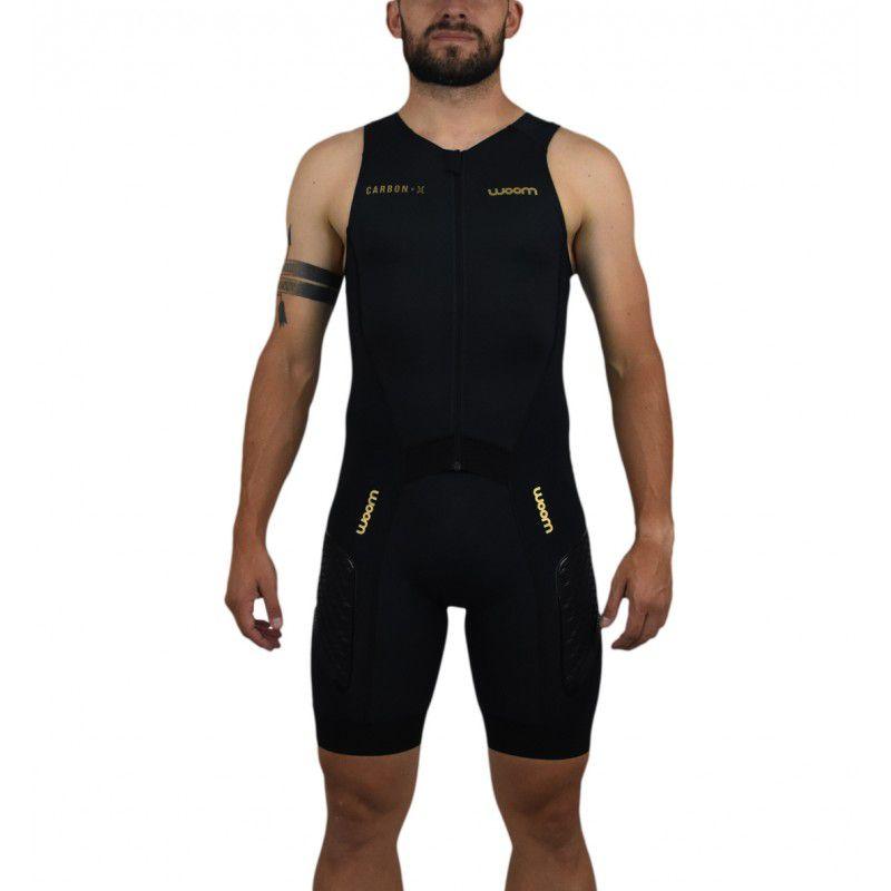 Macaquinho Triathlon 140 Carbon sem Manga Woom - Masc - 2019