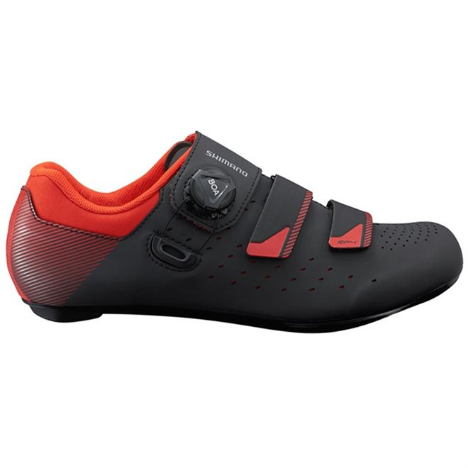 Sapatilha Ciclismo Shimano RP4 SH-RP400 Vermelho e Preto