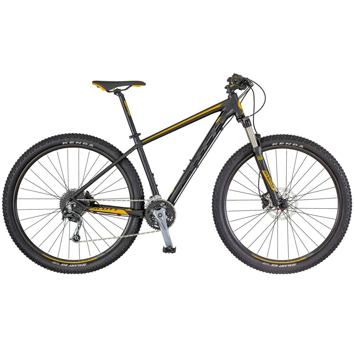 SCOTT ASPECT 930 Preta/Laranja - 2018