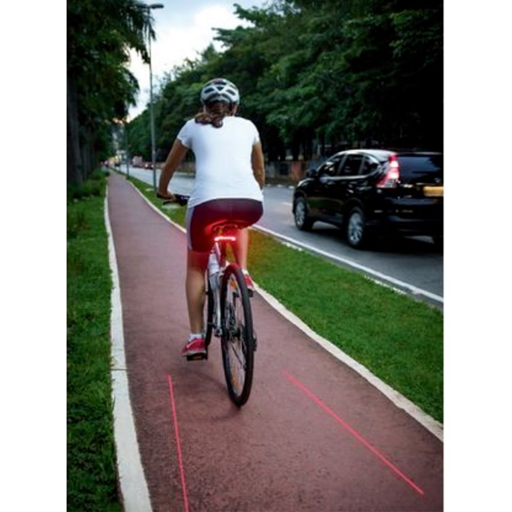 Sinalizador a laser para Bike com controle remoto Atrio multilaser - BI092