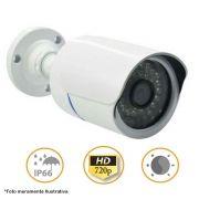 Camera Bullet Infravermelho AHD-M 6016 36 Leds 720p 1.3MP 3,6MM 1/3 Dia e Noite Carcaça de Metal