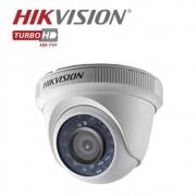 Camera Dome Infravermelho HIBRIDA Hikvison HD 720p DS-2CE56C0T-IRP 3,6MM