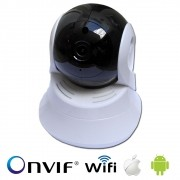 Câmera IP Robô II AHD WI-FI HD 720p 1.0 MP Sem Antena
