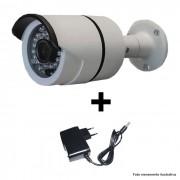 Câmera IR CUT Bullet  Infravermelho 1500 TVL 1/3 3,6MM + Fonte