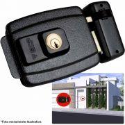 Fechadura Elétrica ECP FX500 12V, Cilindro Fixo, Compatível com Intervox e VideoMax