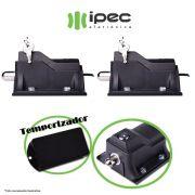 Kit 2 Trava Eletrica Para Portão Eco Lock Ipec Com Temporizador 127v