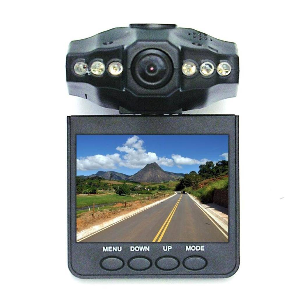 Câmera Filmadora Automotiva DVR Veicular 720p HD Visão Noturna