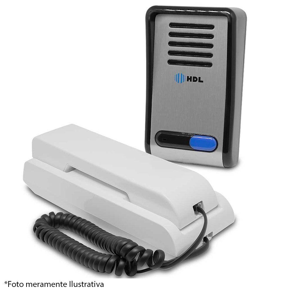 Interfone Porteiro Eletrônico HDL F8 S, Unidade Externa + Unidade Interna