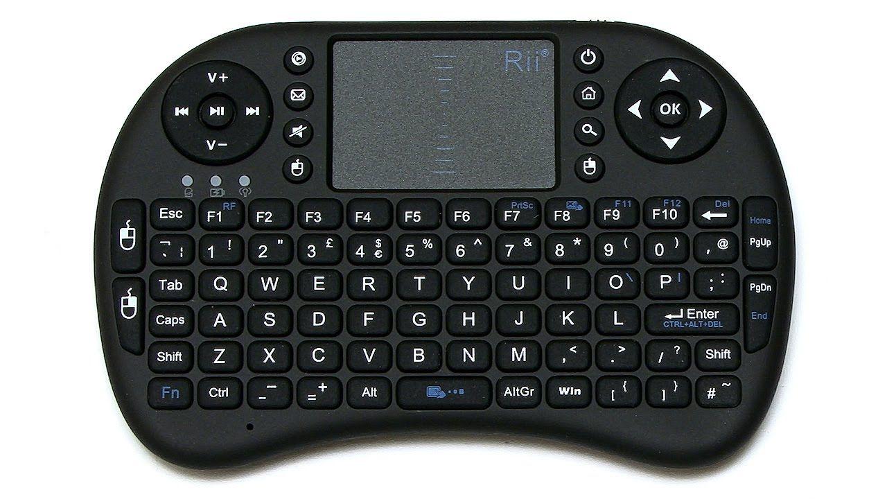 Mini Teclado Keyboard Touchpad Wireless Sem fio