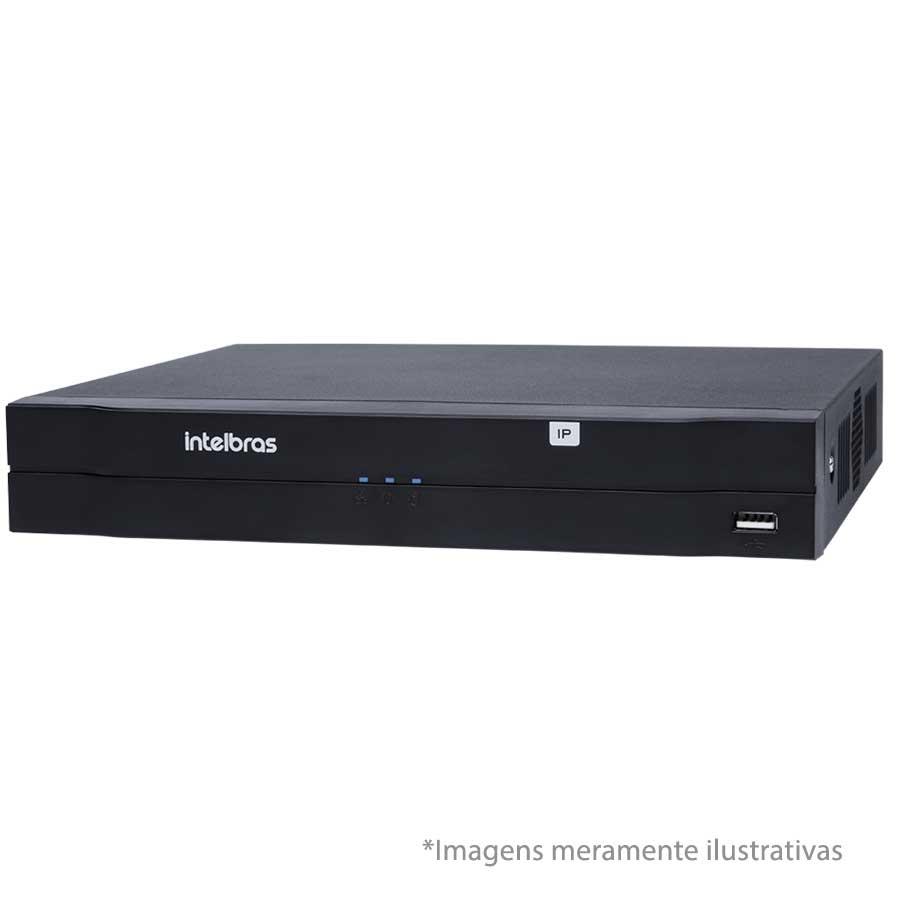 NVR, HVR Stand Alone Intelbras NVD 1108 8 Canais, para Câmera IP, OnVif
