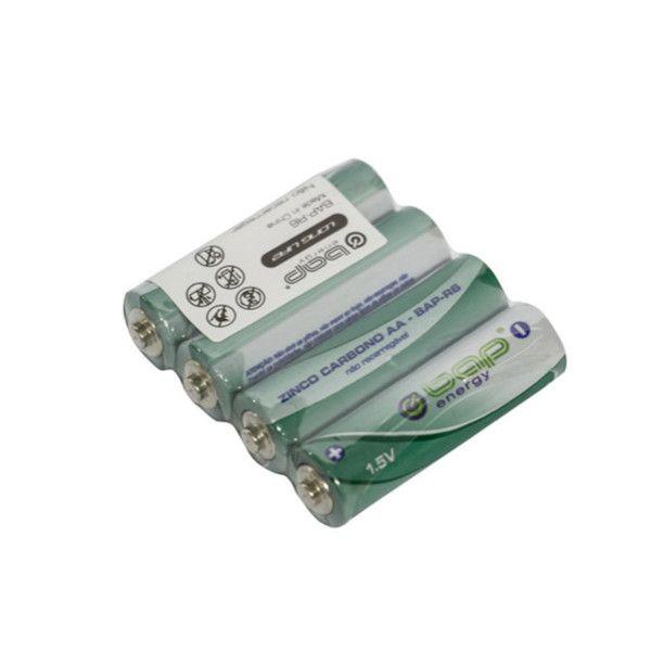 Pilha AA BAP-R6 de Zinco Carbono, Utilidades em geral