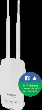 Roteador Intelbras Hotspot 300 Wifi Com Check-in Facebook Ap