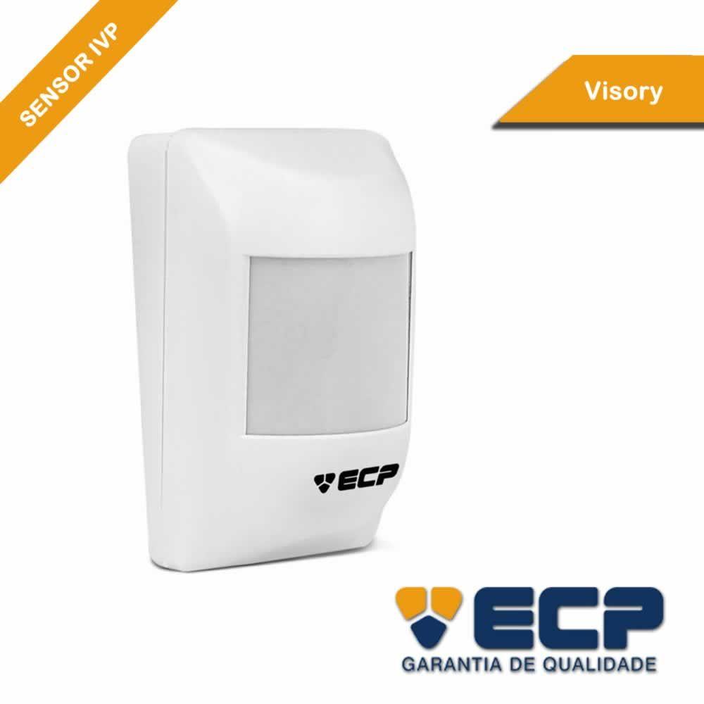 Sensor Infravermelho Passivo ECP IVP VISORY com Fio