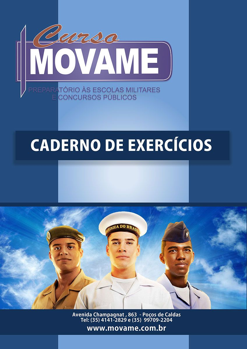 Caderno de Exercícios - Volume I  - MOVAME CURSOS EDUCACIONAIS