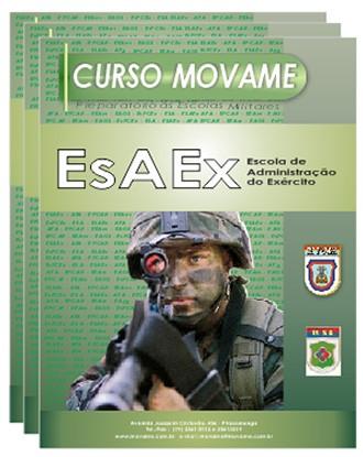 Conjunto Completo EsAEx  - MOVAME CURSOS EDUCACIONAIS