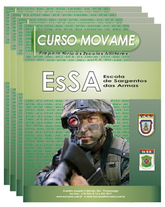 Conjunto Completo EsSA  - MOVAME CURSOS EDUCACIONAIS