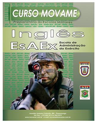 Inglês EsAEx  - MOVAME CURSOS EDUCACIONAIS