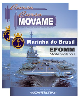 Matemática EFOMM  - MOVAME CURSOS EDUCACIONAIS
