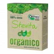 Adoçante 100% Stevia Orgânico Sachê 0,5g x 50 - Stevita
