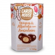 Alfarroba com Amendoim Sem Açúcar 100g - Carob House