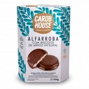 Alfarroba com Biscoito de Arroz integral Sem Açúcar 100g - Carob House