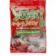 Balas de Algas Marinhas Sabor Morango 200g - Sweet Jelly