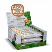 Barrinha  Alfarroba com Damasco e Nozes Sem Açúcar 25g x 18 - Carob House
