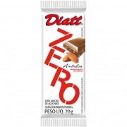 Chocolate Zero Amêndoa 20g - Diatt20g