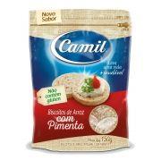 Biscoito de Arroz Integral Sem Glúten com Pimenta 150g - Camil
